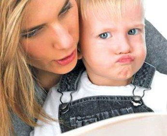 Ребенок не любит маму?