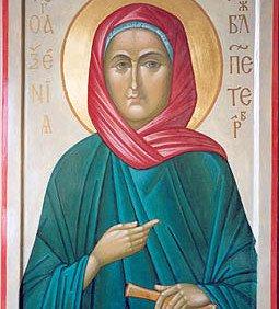 Молитва Ксении Петербуржской и другим святым о здоровье