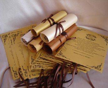 Пригласительный на свадьбу - возможность выделить незабываемое событие
