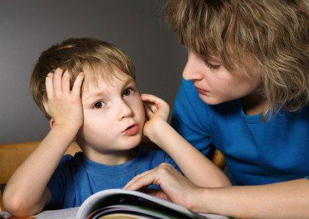 Ребёнок не хочет читать фото