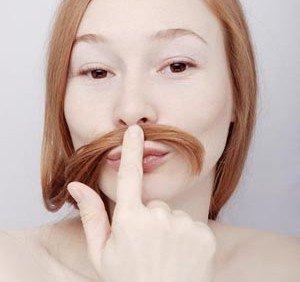 Волосы над верхней губой: победим проблему вместе