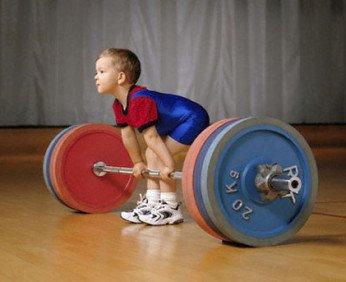 Физическое воспитание ребенка