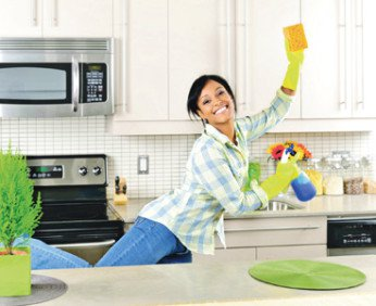 Как быстро навести порядок на кухне и сделать ее уютной