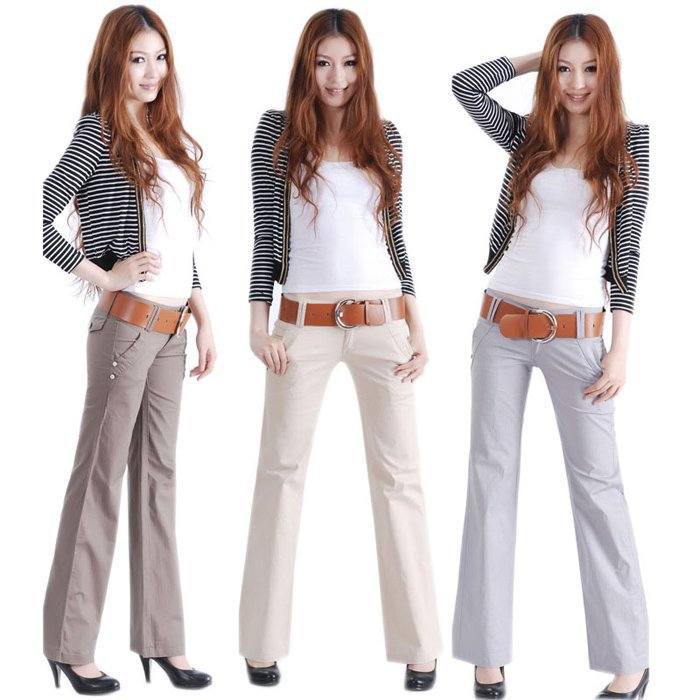 2012-new-fashion-korea-straight-leg-low-waist-solid-cotton-office-lady-OL-women-capris-leggings (1)
