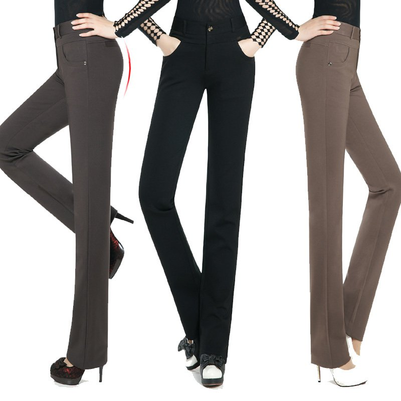 2013-fluid-pants-casual-pants-straight-trousers-summer-plus-size-fashion-Women-k1011