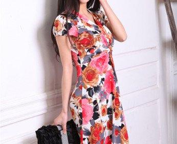 free-shipping-summer-dresses-2013-fashion-dress-women-linen-dress-for-summer-wear-blouses-brand-clothing
