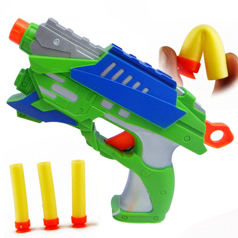 Eco-friendly-soft-bullet-gun-mini-toy-gun-boy-toy-soft-bullet-gun-bullet