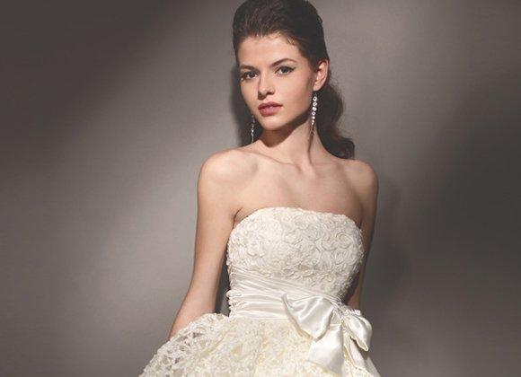 ceede433507 Невысокой невесте — маленькое свадебное платье!