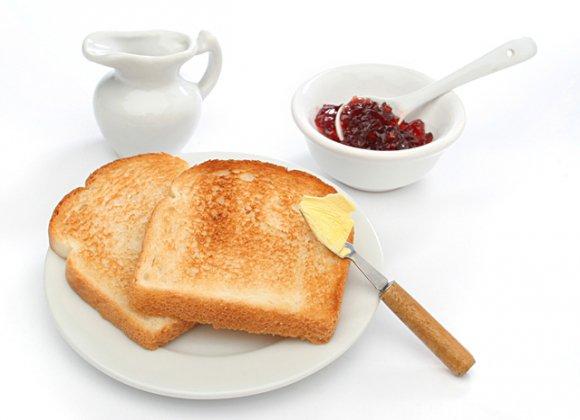 Хлебные тосты с чем есть