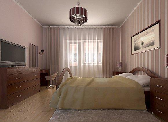 Спальня дизайн фото эконом